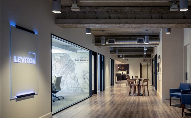 The new leviton live experience center in san francisco