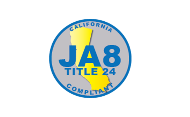 Updated JA8 List - New Product Category